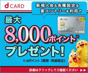 dカード300250